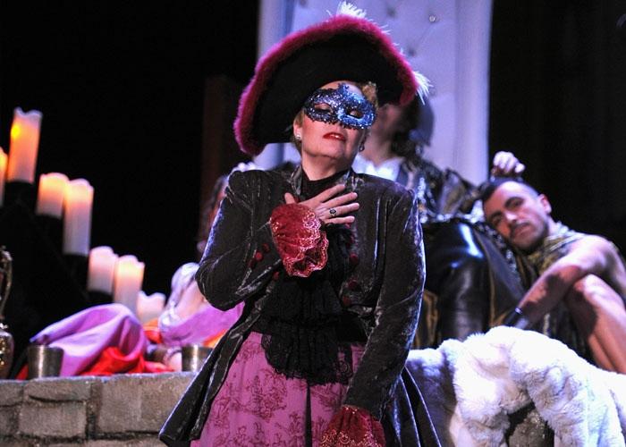 Affiche de la Chauve-Souris, opéra de Massy, novembre 2015