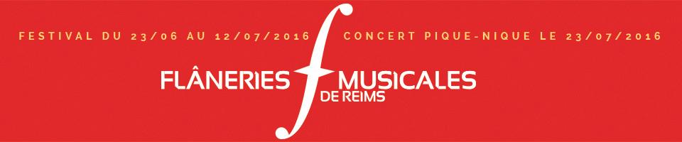 Festival : Flâneries Musicales de Reims Concert Compagnie la Tempête, le 30 Juin 2016