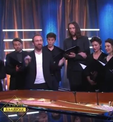 Boite à musique, Zygel, Compagnie la Tempête, Eudes Peyre