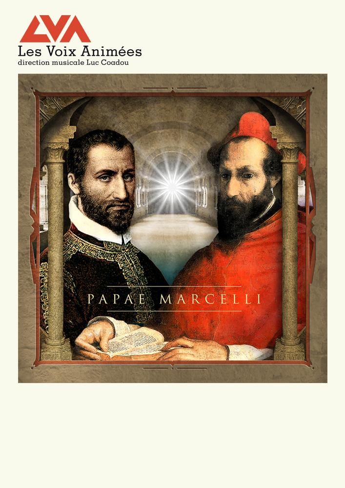 Affiche du programme Papae Marcelli avec les Voix Animées